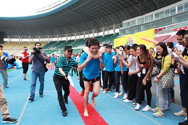 2014趣味运动嘉年华圆满落幕:进击的赢家人!